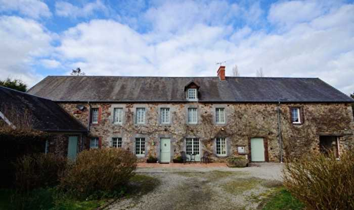AHIN- SG-3018 Near Coutances 50200 Village House (4 bed) with (3 bed) Gite on 1835m2 garden