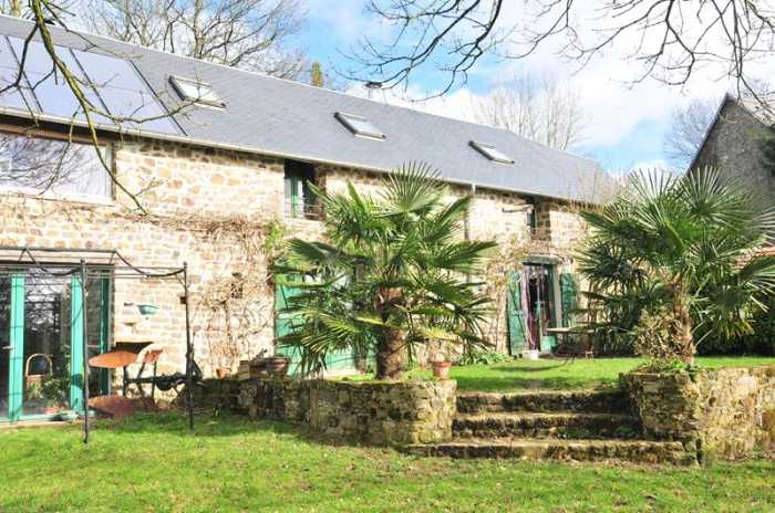 AHIN-SIF-001010 • Granville, Villedieu, Avranches Triangle – 5 Bed House and 3 Bed Gite gîte with garden and stream frontage on 11,000m2 of land