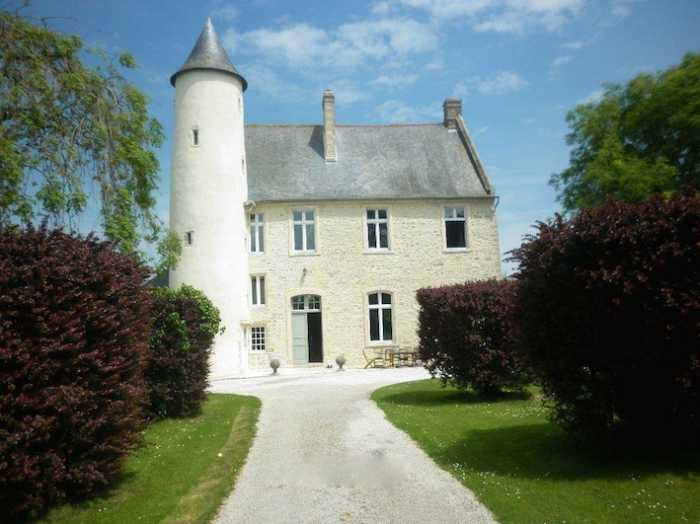 AHIN-KR-1680 Monfreville 14230 5 bedroom chateau + 2 gites + campsite on 85000 m²