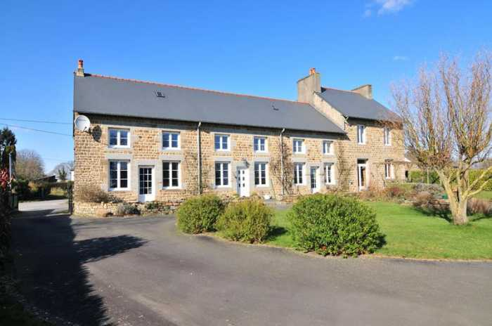 AHIN-SIF-001026 • Saint Martin de Landelles, 8 bedroomed former School with Gite on 2,559m2 of land