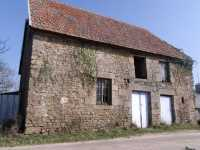 AHIN-MF961DM50 Nr St Hilaire du Harcouët 50600 Stone cottage for complete restoration on 680m2 garden