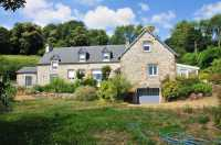 AHIN-SP-001059 - Nr Mortain 4 Bed Detached house and 3 Bed Gîte with superb views in Normandy - ideally placed for B&B. Further land of up to one and a quarter acres is available separately.