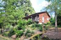 AHIN-SP-001070 • Manche/Orne Borders • Beautiful 2.5 acre lake with 3 Bedroomed Fisherman's lodge