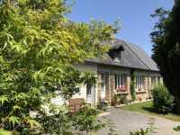 UNDER OFFER AHIN-SP-001195 Nr Saint Hilaire du Harcouët 50600 Pretty detached bungalow with half an acre garden in a quiet village in Normandy
